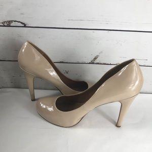 Aldo Nude Round Toe Heels Size 9 (40)